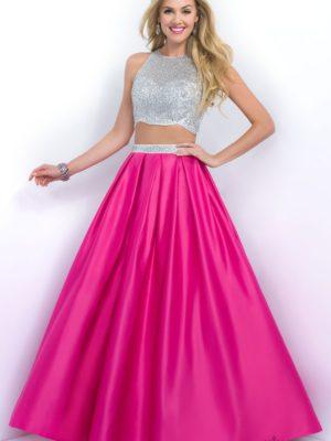 Společenské šaty Christellas blush č.60, vel 34-36