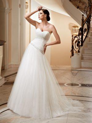 svatební šaty agnes č63, vel 36-38