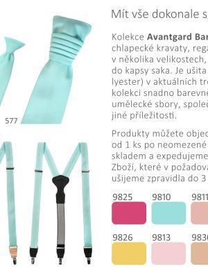 Avantgard barevné trendy