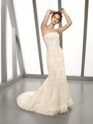 svatební šaty mori lee 42, vel38
