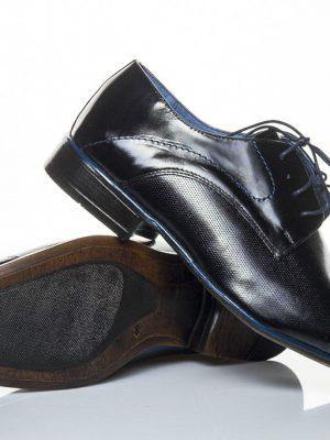 panska spolecenska obuv peccini go 093-d black blue 40-45