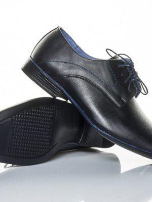 panska spolecenska obuv peccini go 097 black-blue 38-49