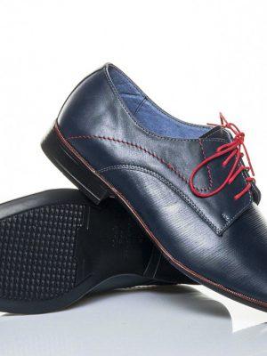 panska spolecenska obuv peccini go 097 blue red 38-49