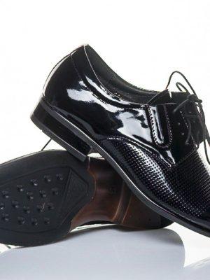panska spolecenska obuv peccini kam 324 lak black 39-45
