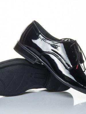 panska spolecenska obuv peccini kam 327 lak black 39-45