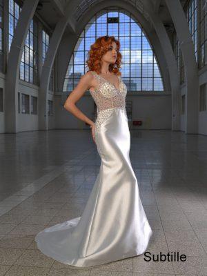 svatební šaty sposa toscana subtille
