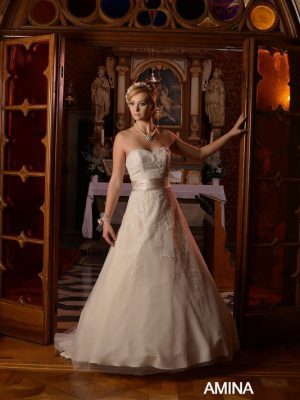 svatební saty sposa toscana amina č.85, 38-42