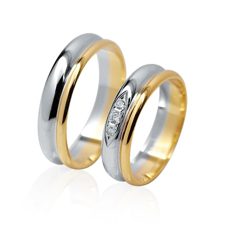 snubní prsteny Retofy classic 14b