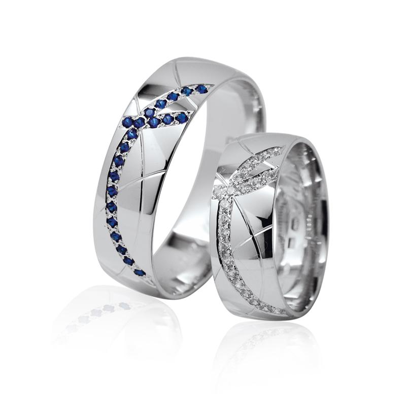 snubní prsteny Retofy fantastic 31b blue