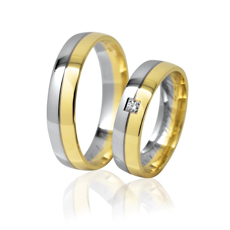 snubní prsteny Retofy simple 18ek