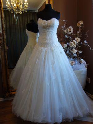 svatební šaty Enzoani c107 vel40-42