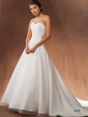 svatební šaty sposa toscana zoe č.70, vel 42-44, white