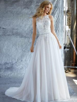 svatební šaty MoriLee Katie 8213, č. 59, vel38-40, ivory/creme
