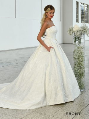 Svatební šaty Sposa Toscana Ebony č.100 vel36-38