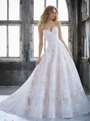 svatební šaty Mori Lee Kimberly vel40 c50-01 8211