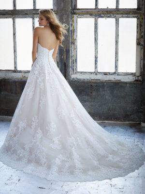 svatební šaty Mori Lee Kimberly vel40 c50-02 8211