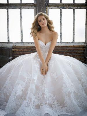 svatební šaty Mori Lee Kimberly vel40 c50-03 8211