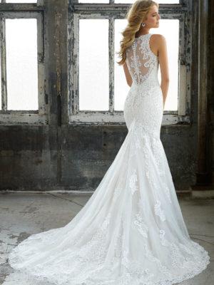 svatební šaty Mori Lee Krista vel38 c56-02 8205