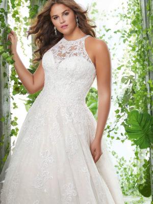 svatební šaty Morilee Perla vel46-48 č65 3256