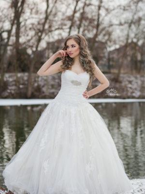 svatební šaty Enzoani č71
