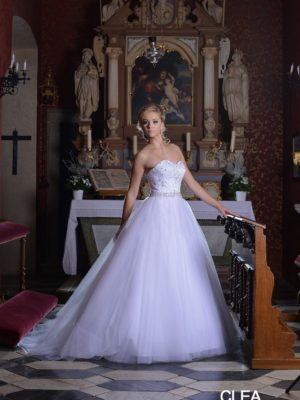 svatební saty sposa toscana clea č.7, vel 34-36